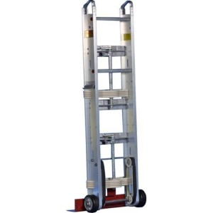 Yeats 59-Inch Aluminum Dual Strap Appliance Hand Truck